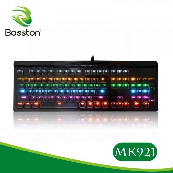 Keyboard cơ Bosston MK-921 led chính hãng0