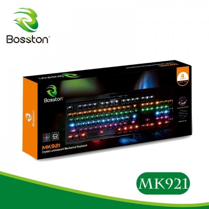 Keyboard cơ Bosston MK-921 led chính hãng1