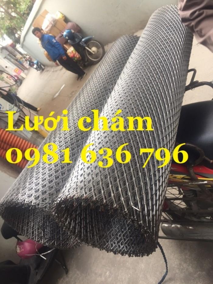 Lưới thép dập giãn - lưới thép hình thoi - lưới quả trám giá rẻ12