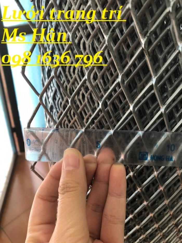Lưới thép dập giãn - lưới thép hình thoi - lưới quả trám giá rẻ13