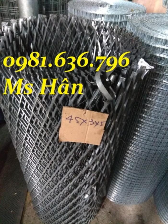 Lưới thép dập giãn - lưới thép hình thoi - lưới quả trám giá rẻ19