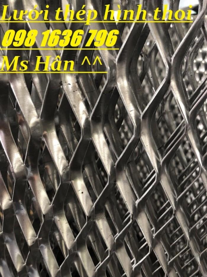 Lưới thép dập giãn - lưới thép hình thoi - lưới quả trám giá rẻ24