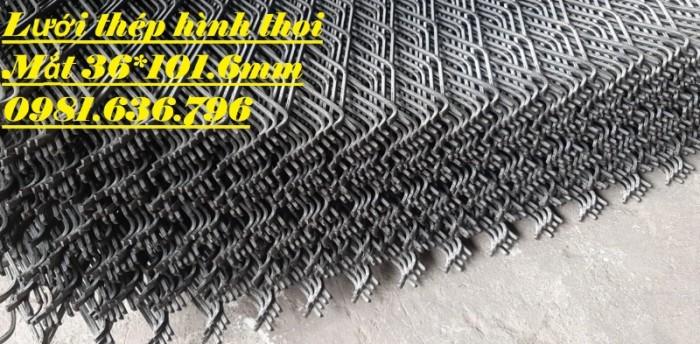 Lưới thép dập giãn - lưới thép hình thoi - lưới quả trám giá rẻ16