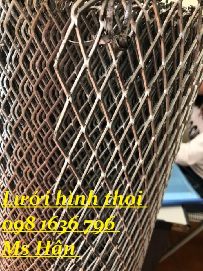 Lưới thép dập giãn - lưới thép hình thoi - lưới quả trám giá rẻ20