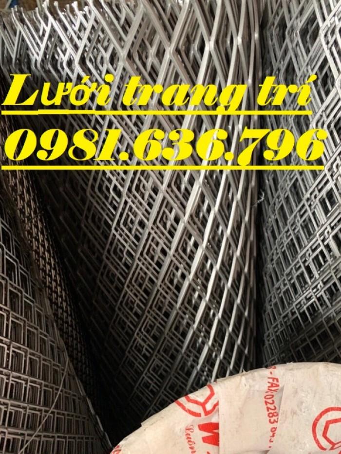 Lưới thép dập giãn - lưới thép hình thoi - lưới quả trám giá rẻ22