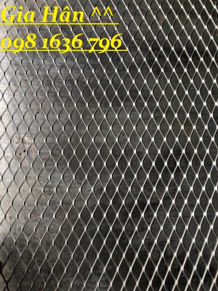 Lưới thép dập giãn - lưới thép hình thoi - lưới quả trám giá rẻ25