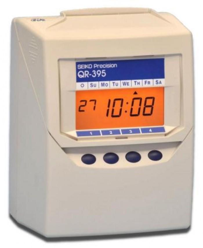 Máy chấm công thẻ giấy Seiko QR 395 - Bán giá rẻ  nhất0
