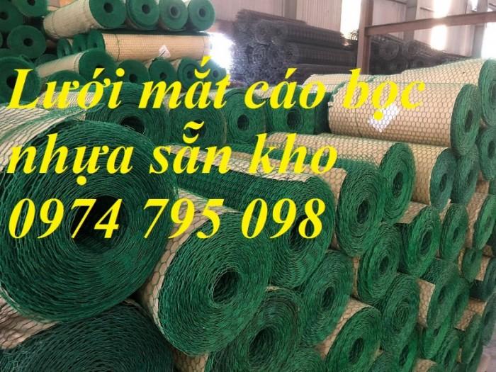 Lưới mắt cáo bọc nhựa mắt lưới 25x25mm hàng có sẵn tại Hà Nội2