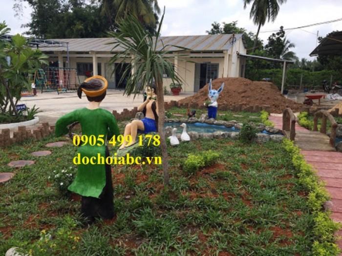 Chuyên thi công lắp đặt vườn cổ tích đẹp chất lượng cao 3