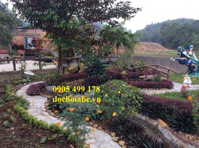 Chuyên thi công lắp đặt vườn cổ tích đẹp chất lượng cao 7