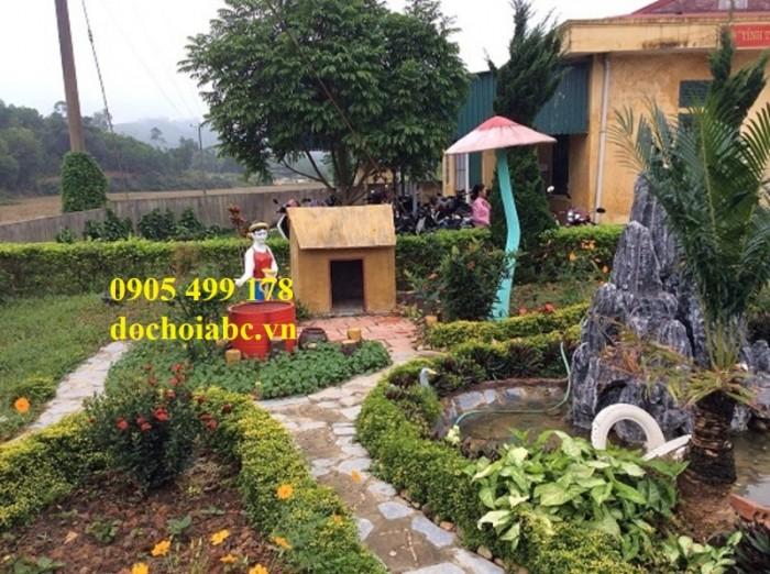Chuyên thi công lắp đặt vườn cổ tích đẹp chất lượng cao 9