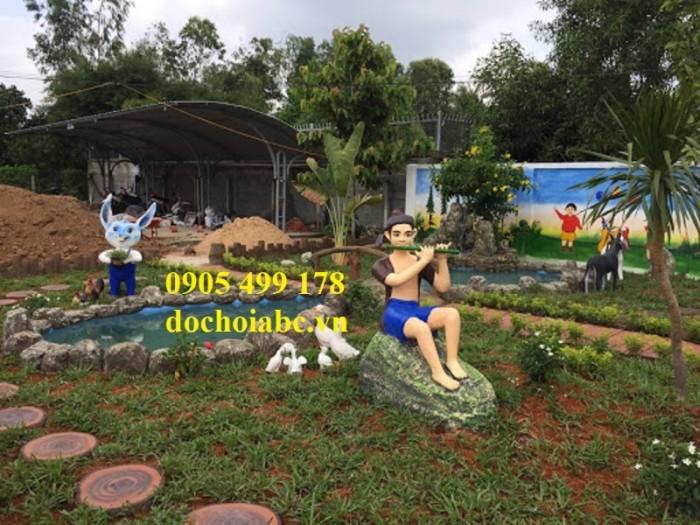 Chuyên thi công lắp đặt vườn cổ tích đẹp chất lượng cao 11