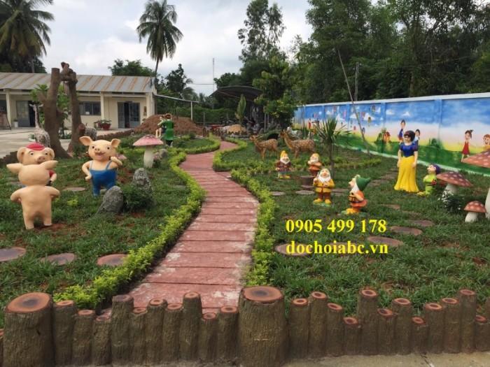 Thiết kế khu vườn cổ tích mầm non chính hãng chất lượng cao trên toàn quốc14