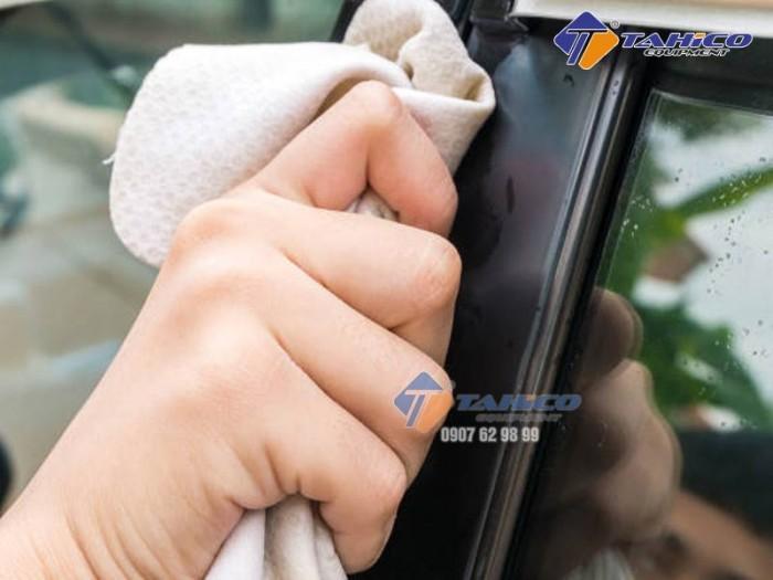 Khăn da bò lau kính và nội thất xe ô tô tại Biên Hòa Đồng Nai0