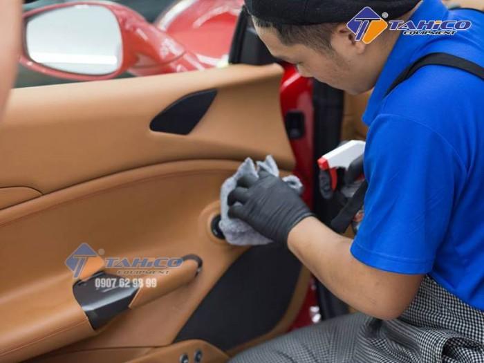 Khăn da bò lau kính và nội thất xe ô tô tại Biên Hòa Đồng Nai1
