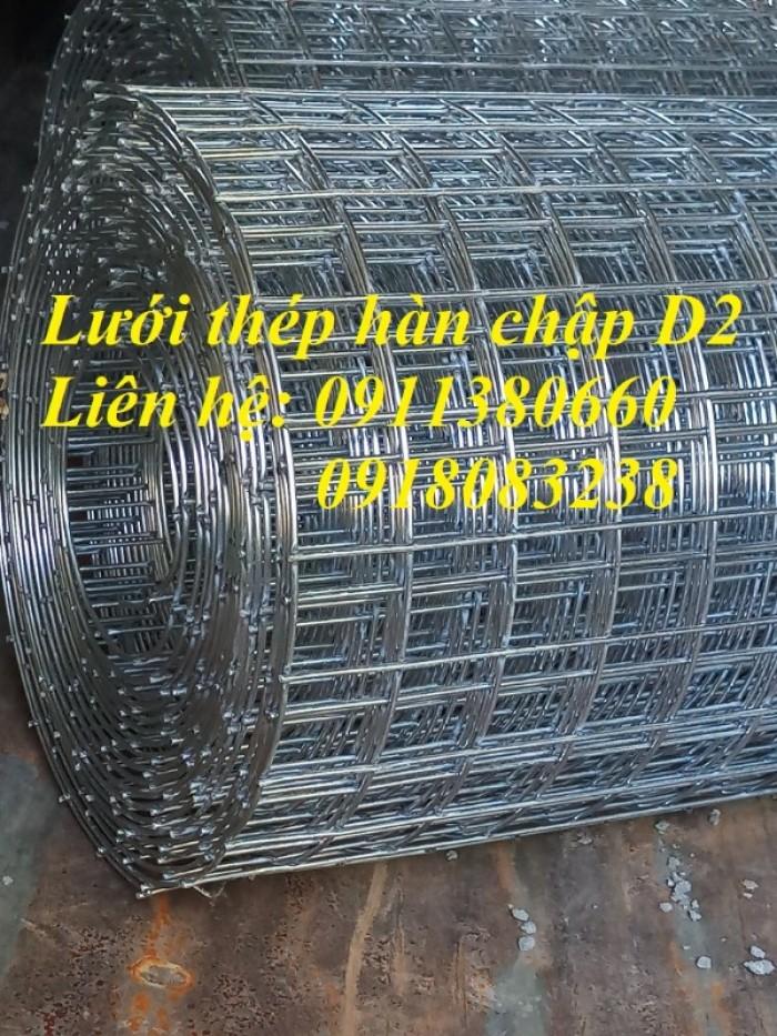 Lưới thép hàn D2 ô25x25, ô50x50 mạ kẽm0