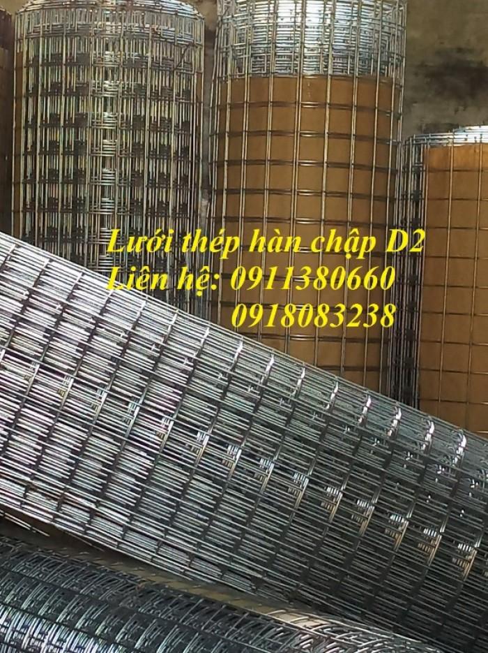 Lưới thép hàn D2 ô25x25, ô50x50 mạ kẽm1