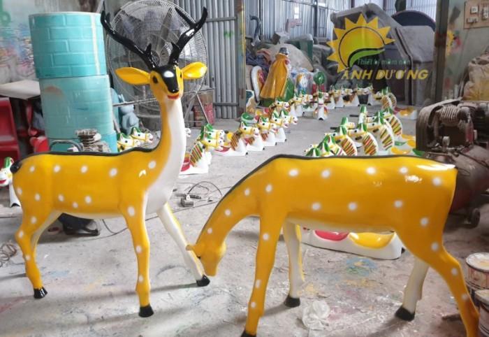 Chuyên cung cấp tượng cho vườn cổ tích mầm non dành cho trẻ nhỏ2