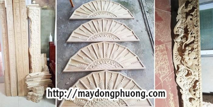 Máy chạm khắc gỗ, máy đục gỗ cnc làm đồ thờ, chân sập tại Hà Nội, Hải Dương2