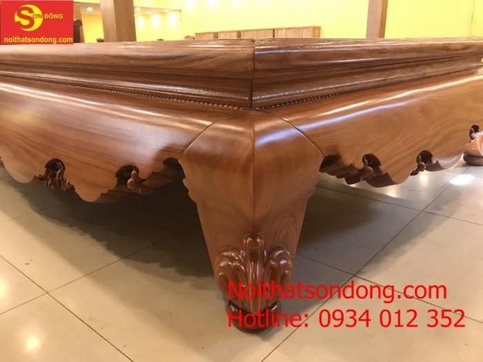 Tấm Phản gỗ đỏ 1.8m x 2.2m chân 240