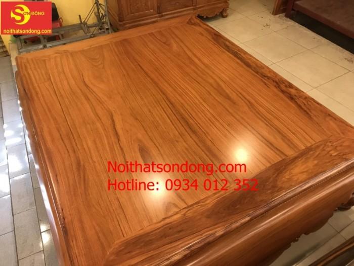 Tấm Phản gỗ đỏ 1.8m x 2.2m chân 244