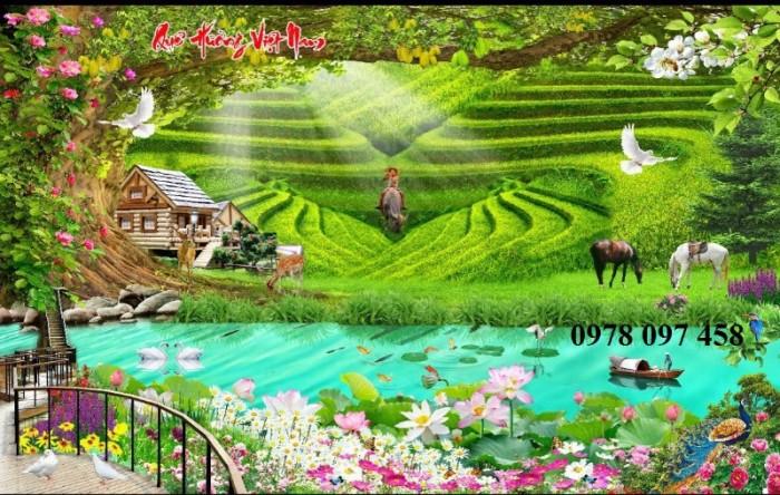 Phong cảnh hữu tình - tranh 3D3