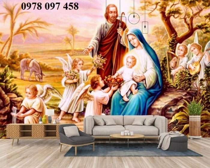 Tranh gạch 3D - tranh công giáo2