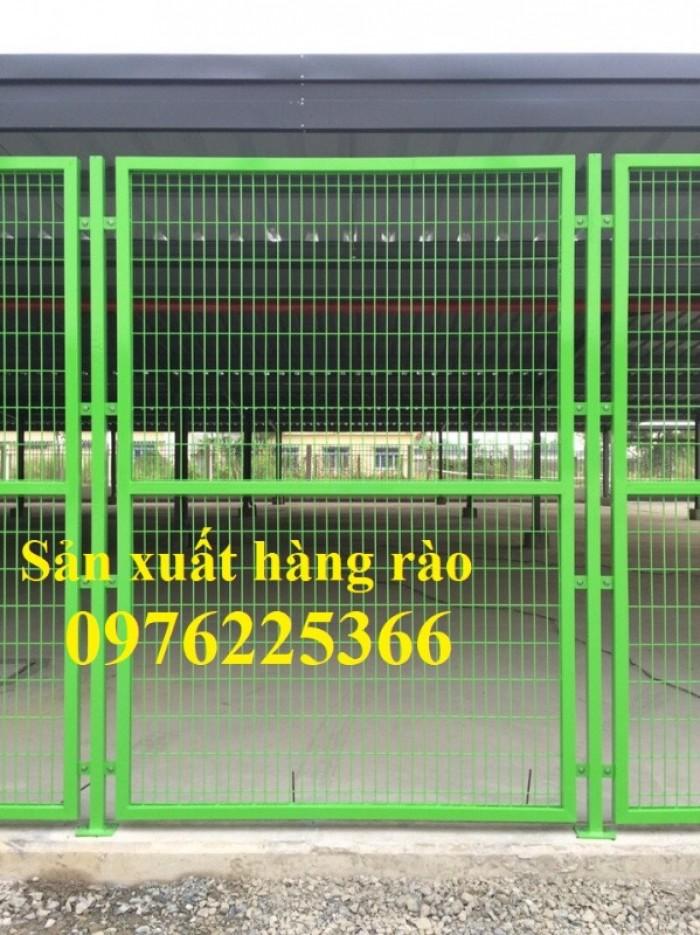 Hàng rào mạ kẽm, hàng rào di động, hàng rào kho5