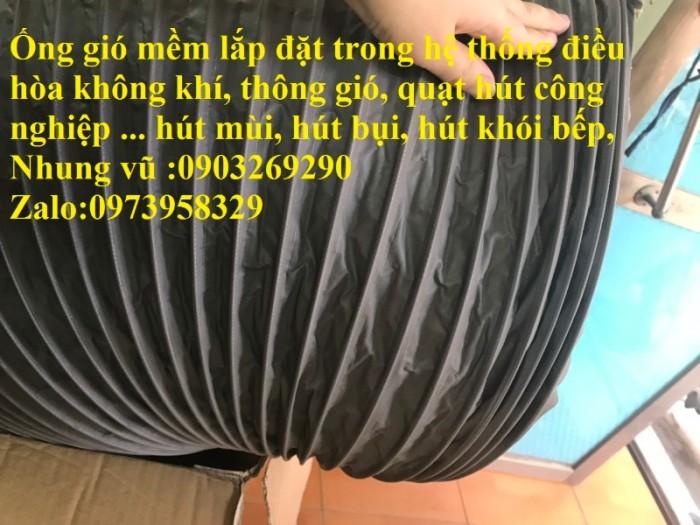 ống gió mềm hàn quốc D500 x 10 mét/ 1 cuộn12