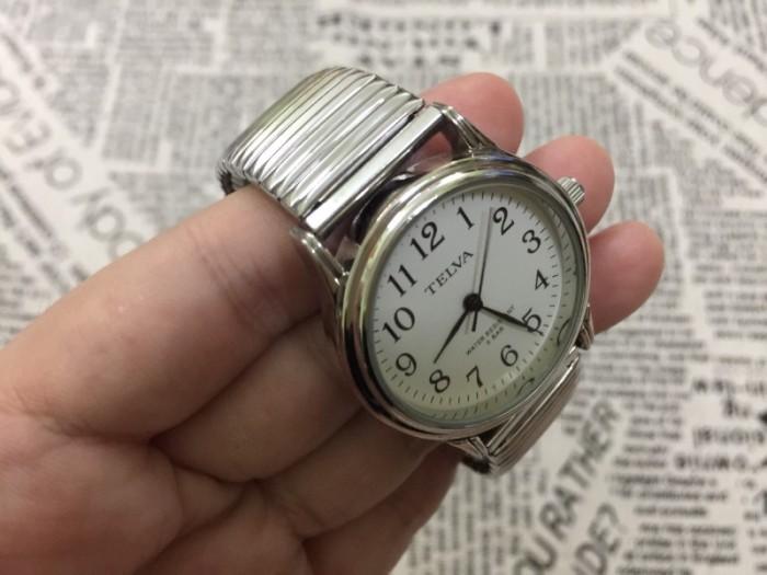 Đồng hồ nữ Telva Nhật dây chun sang trọng, size 350