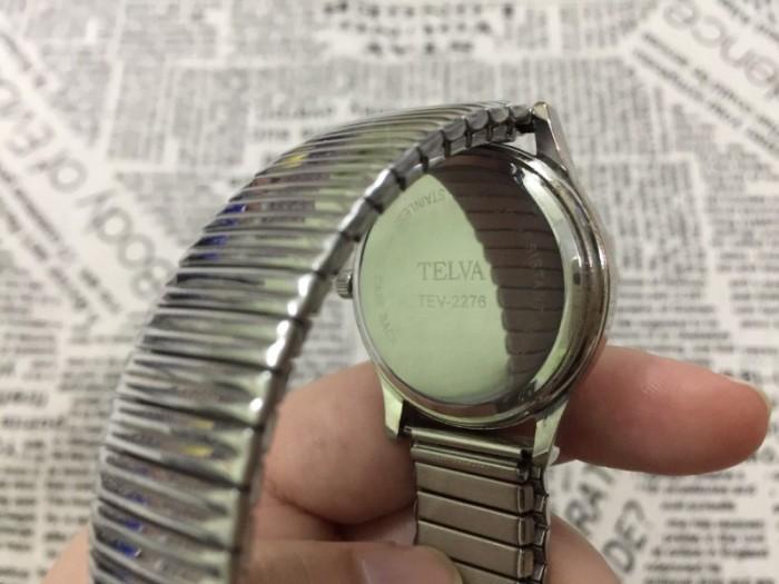 Đồng hồ nữ Telva Nhật dây chun sang trọng, size 351
