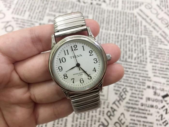 Đồng hồ nữ Telva Nhật dây chun sang trọng, size 352
