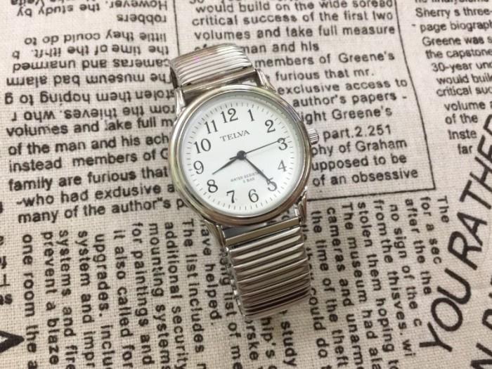Đồng hồ nữ Telva Nhật dây chun sang trọng, size 356