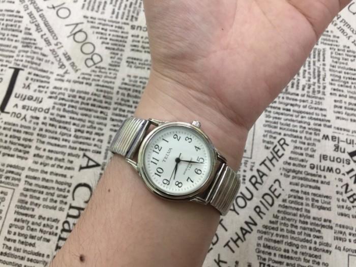 Đồng hồ nữ Telva Nhật dây chun sang trọng, size 353
