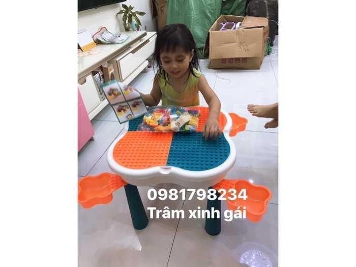 Bộ bàn ghế Lego Hoa Anh Đào3