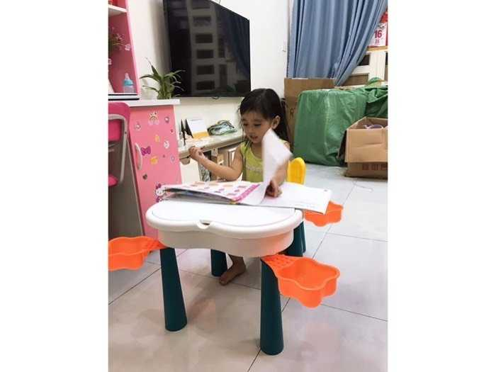 Bộ bàn ghế Lego Hoa Anh Đào4