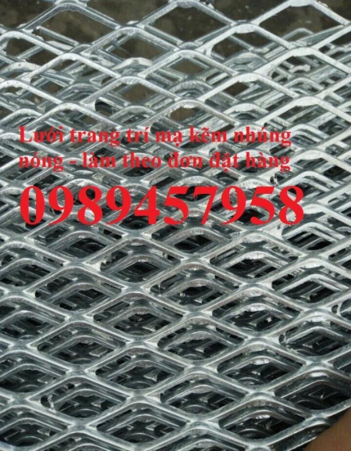 Lưới mắt cáo mạ kẽm nhúng nóng 20x40, 30x60, 36x101 theo đơn hàng mới 100%12