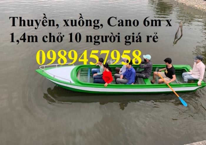 Cano chở 8-10 người 6m trọng tải 1200kg mới 100%1