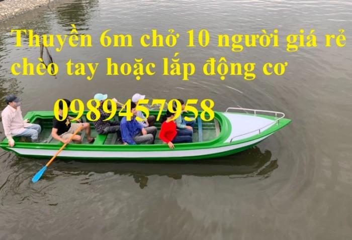 Thuyền composite chở 8-10 người, Thuyền chở 4-6 người có sẵn10