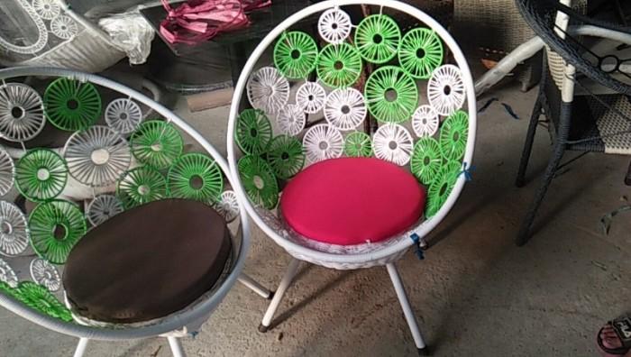 Sản xuất và cung cấp bàn ghế cafe nhựa giả mây dùng cho cafe, nhà hàng..4