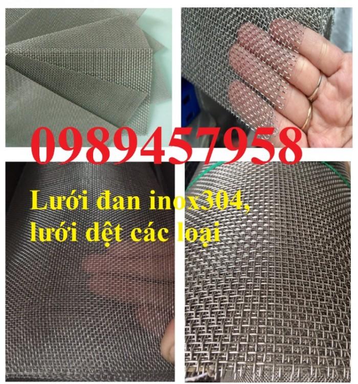 Lưới lọc khoáng sản, lưới lọc dầu, lưới dệt inox 304, lưới đan 1ly, 2ly2