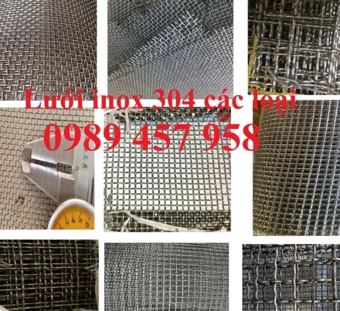 Lưới lọc khoáng sản, lưới lọc dầu, lưới dệt inox 304, lưới đan 1ly, 2ly3