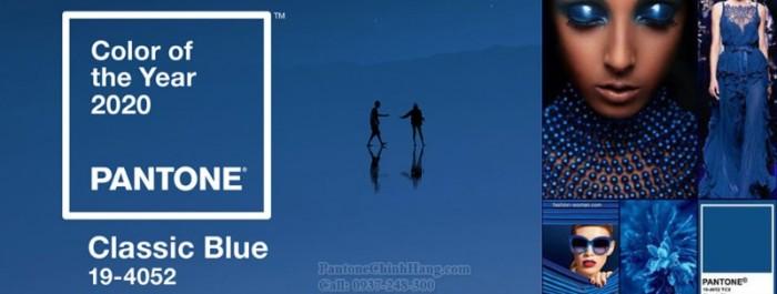 Pantone màu 2020, pantone màu classic blue, pantone tpx1
