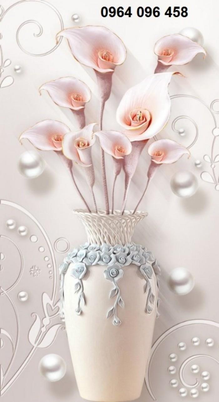 Tranh gạch 3d hoa ngọc - 56EY8