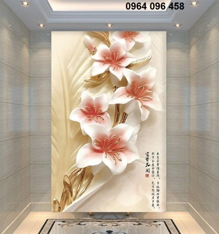 Tranh gạch 3d hoa ngọc - 56EY5