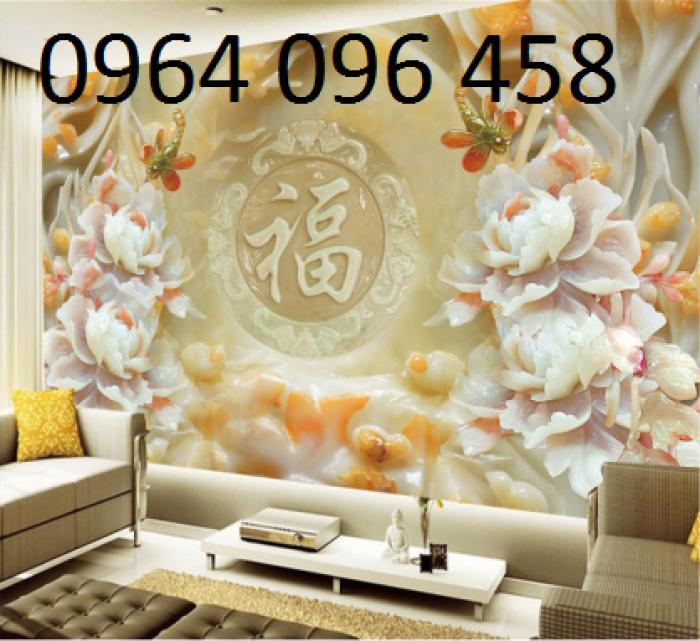 Tranh gạch 3d hoa ngọc - 56EY3
