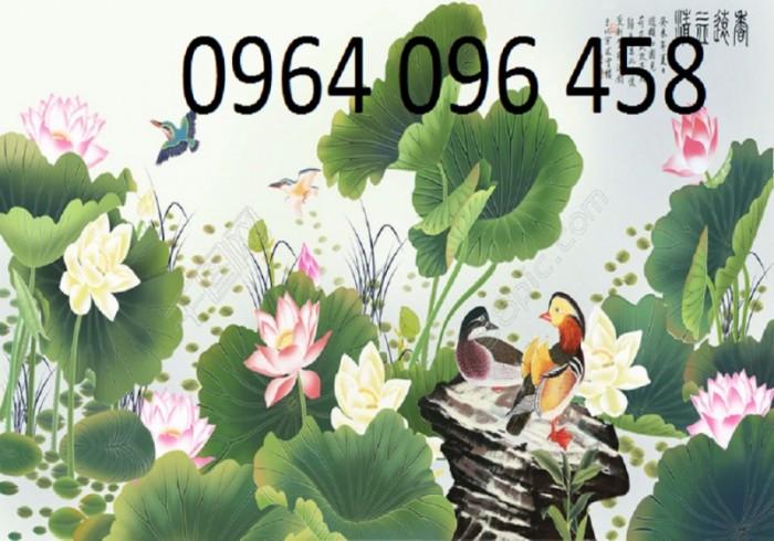 Tranh gạch 3d hoa ngọc - 56EY6