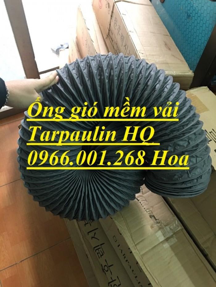 Ống gió mềm vải Tarpaulin phi 100,phi 150,phi 200,phi 250,phi 300,phi 35019