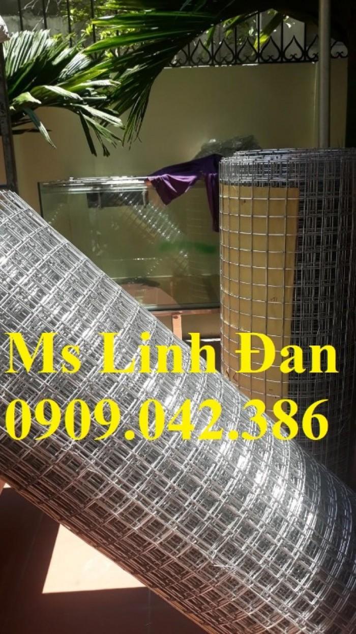 Lưới thép hàn mạ kẽm, lưới thép hàn mạ kẽm dạng cuộn, lưới thép hàn có sẵn2
