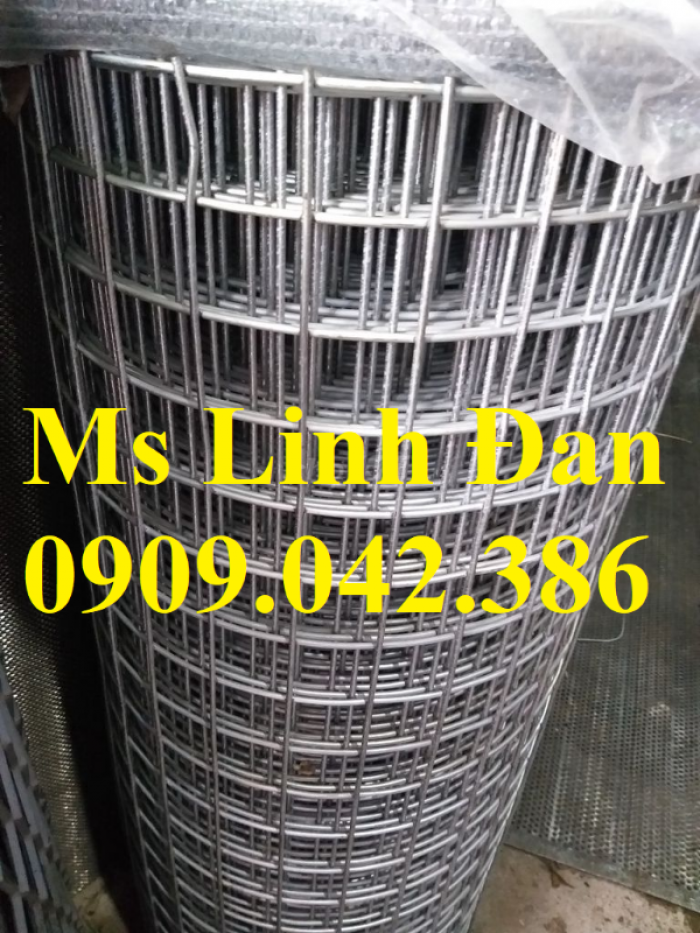 Lưới thép hàn mạ kẽm, lưới thép hàn mạ kẽm dạng cuộn, lưới thép hàn có sẵn4